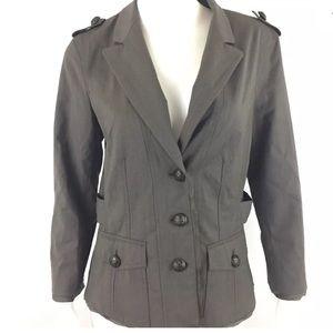 Elizabeth And James Womens Blazer Jacket Size 10